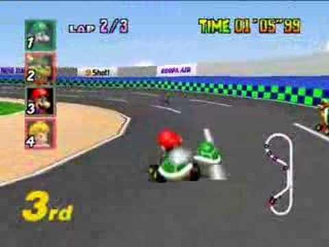 Mario Kart 64 Luigi Raceway Youtube