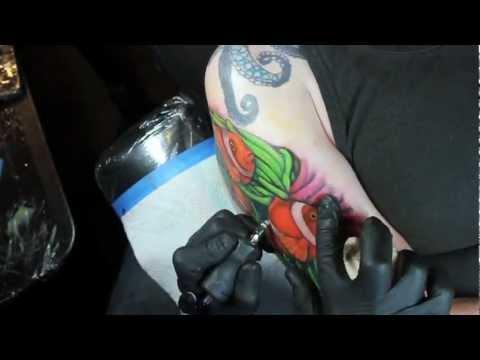 Tattoo Time Lapse