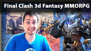 Final Clash 3d Fantasy MMORPG Game Gameplay Walkthrough 1
