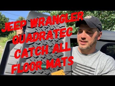 Jeep Wrangler CATCH All Floor Mats By Quadratec