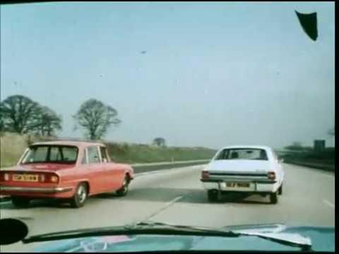 Joining The Motorway   UK Public Information Film