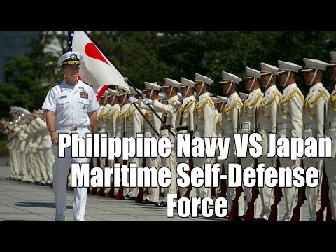 Philippine Navy VS Japan Maritime Self Defense Force | Military Comparison