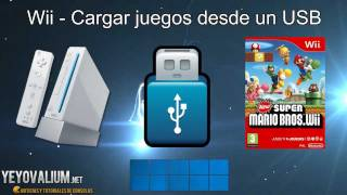Repeat youtube video Wii - Cargar juegos con USB o disco duro externo