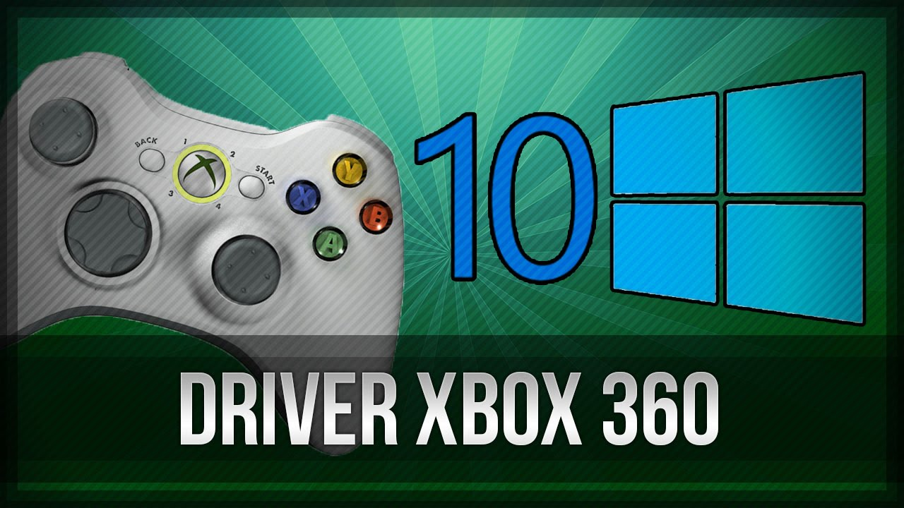 Download Xbox 360 Controller Driver Windows 8.1