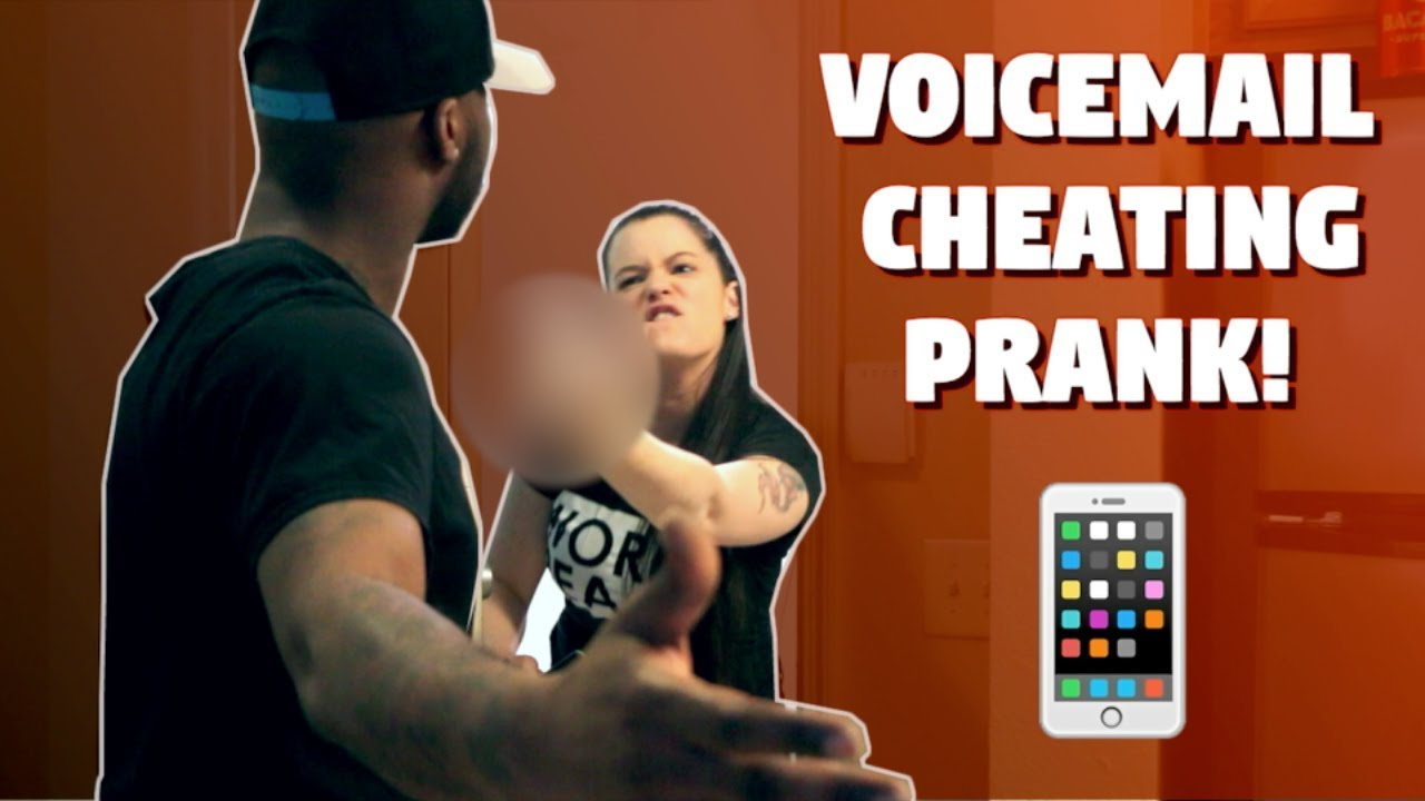 voicemail cheating prank went