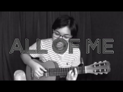 (John Legend) All of Me [Guitalele] - Alyza