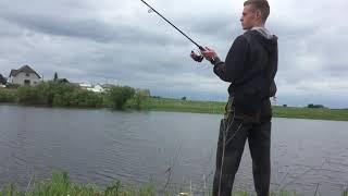 Рыбалка на щуку 2020 Встретил ужа