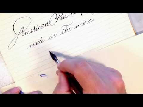 American Pen Company vintage dip pen