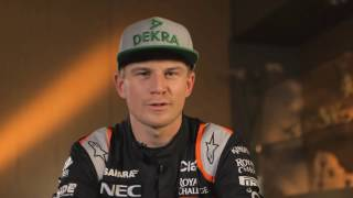 F1 Track Preview with N.Hülkenberg - GP of Mexico 2016 | AutoMotoTV