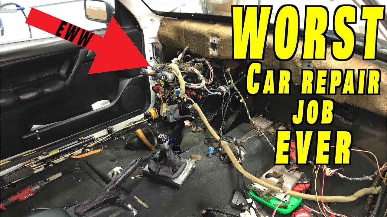 The Worst Car Repair Job Ever Youtube