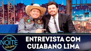 Entrevista com Cuiabano Lima    The Noite (17/10/18)