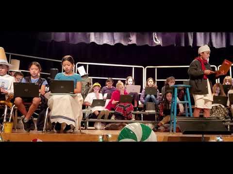 Davis Magnet School - Mrs. Danahy - 5th Grade  Play A Christmas Carol 1 of 3