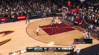 MY FIRST IMPRESSION OF NBA LIVE 16 GAMEPLAY PRETTY GOOD GAME