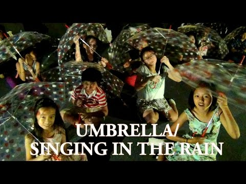 GLEE Umbrella/ Singing In The Rain Cover by Stage 69 Productions Students