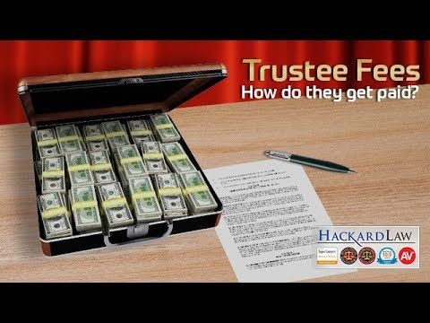 Trustee's Professional Fees | How Much are They Paid?
