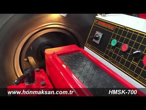 HMSK 700 Fren Kampana Disk Tornası ( HONMAKSAN ) -- Drum & Disc rotors Brake Lathe