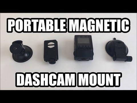 DIY: Magnetic Dashcam Mount
