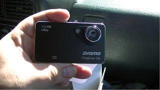 видеорегистратор Digma FreeDrive 106 (беглый обзор после покупки)