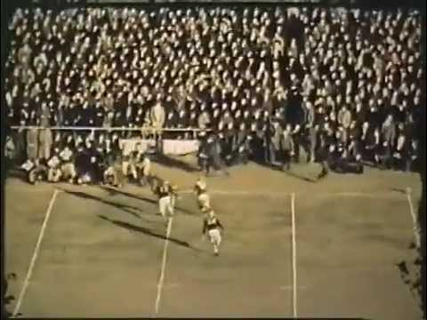 State University of Iowa football vs. Notre Dame- November 11th, 1939