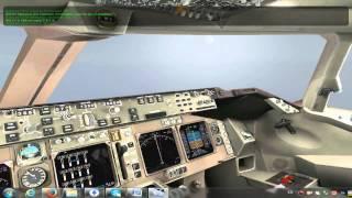 Детальний опис польоту для новачків в X-plane 10, (літак Boeing 747 United)