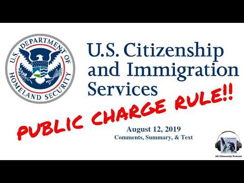 The New USCIS Public Charge Rule