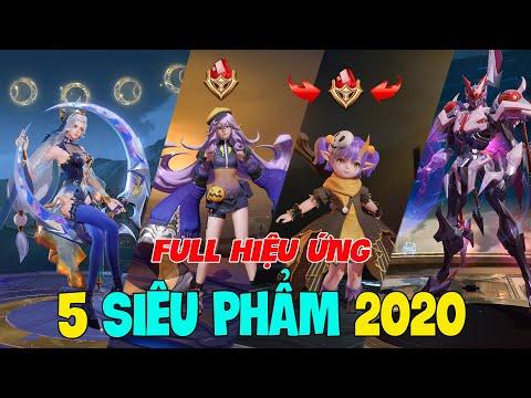 [TNG] 5 SKIN Siêu Phẩm 2020 Full hiệu ứng: Alice halloween, Tulen Robot ST.L-79, keera halloween LQM