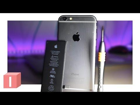 Меняю батарею iPhone 6 своими руками  Аккум с Aliexpress