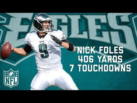 That Time Nick Foles Threw More TD's than Incompletions | NFL Highlights