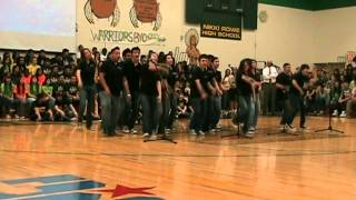 McAllen Rowe High School Show Choir at Assembly.
