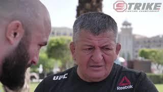 Абдулманап Магомедович Нурмагомедов разбирает бой Магомеда Исмаилова и Владимира Минеева.