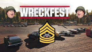 PINK CARS LOVE TO SMASH | WRECKFEST GAMEPLAY REVIEW PART 1