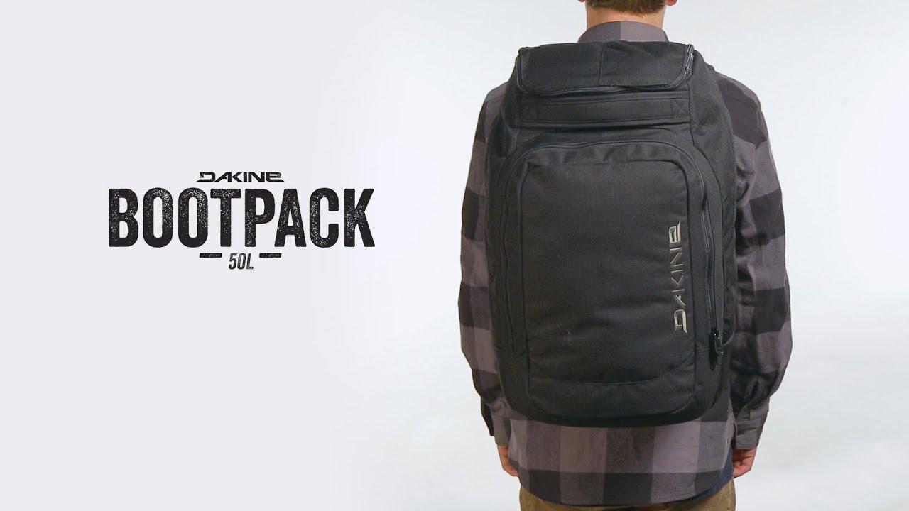 5577b7473f Dakine Bootpack 50L - YouTube
