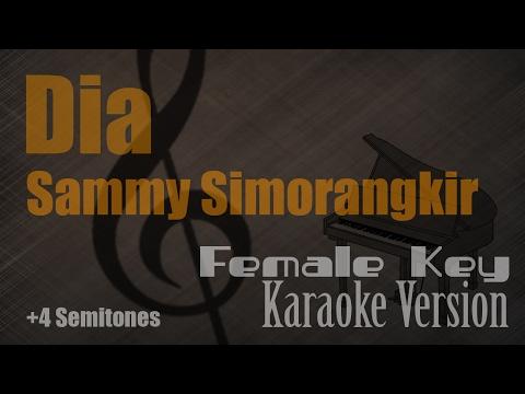 Sammy Simorangkir - Dia (Female Key) Karaoke Version | Ayjeeme Karaoke