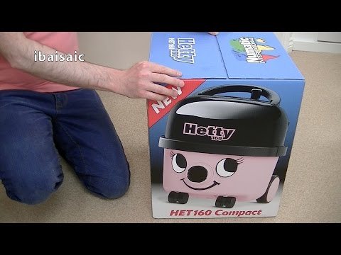 New Model Numatic Hetty 160 Compact Vacuum Cleaner Unboxing & First Look