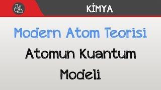 Modern Atom Teorisi Atomun Kuantum Modeli