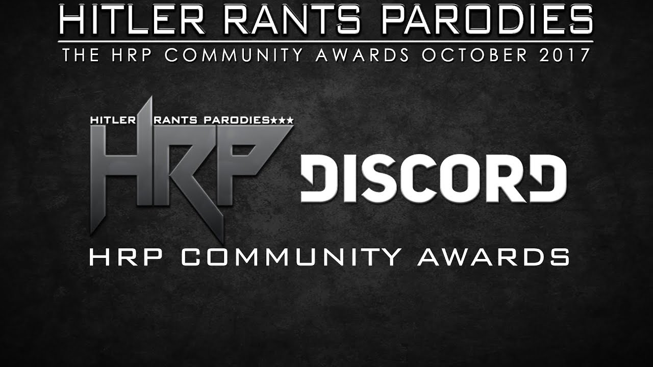HRP Community Awards (October 2017)