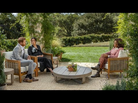 Oprah With Meghan And Harry First Look |