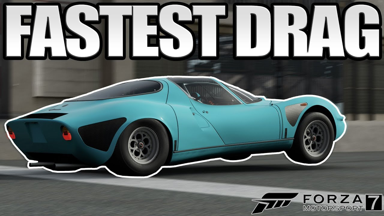 Fastest Drag Car In Forza 7 Stupid Fast 7 25 Youtube