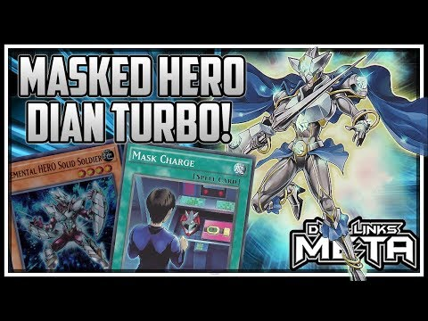 Masked Hero Dian Turbo! [Yu-Gi-Oh! Duel Links]