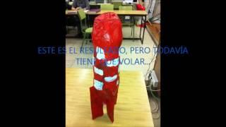 Video construcción juguete de reciclaje
