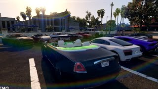 GTA V | DUBAI BILLIONAIRE CARS IN GTA 5