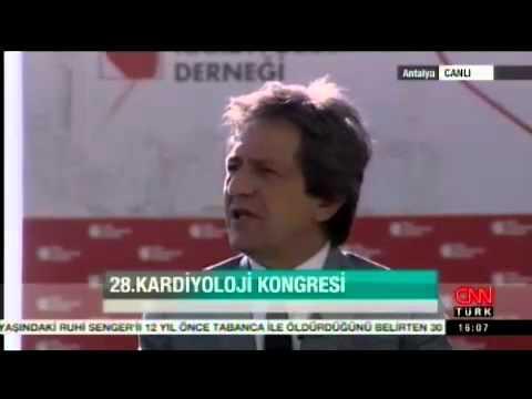 Prof. Dr. Ömer Kozan, Prof. Dr. Oktay Ergene, 28. Ulusal Kardiyoloji Kongresi'nden Canlı Yayın