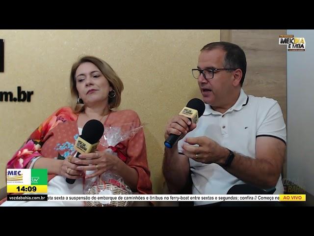 Programa Meio dia e meia LIVE Especial Dia dos Namorados com Pr. Sávio Castro e Edileide Castro