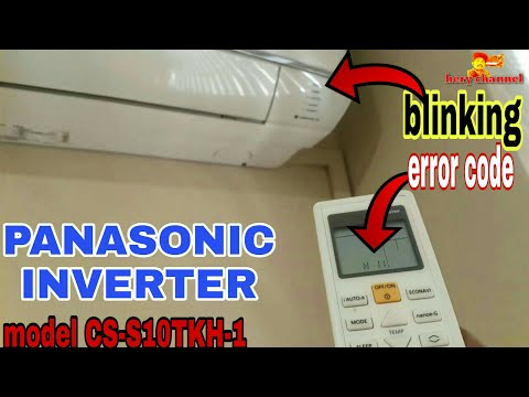Panasonic Air Conditioner  Timer Blinking | Inverter 1hp Made In Malaysia