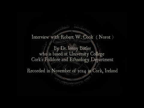 Interview with Robert W. Cook (Norot) by Dr. Jenny Butler