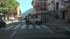 Italy / Italien Fahrt von Garda nach Torbole (Gardasee)