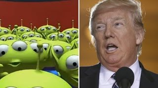 SPACE ALIENS Call Donald Trump Immigration Hotline!   What's Trending Now!