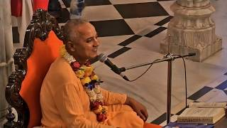 Evening Bhagavad Gita Class 02  05 by Brahama Samita Prabhu on 16th Feb 2018 At ISKCON Juhu