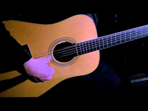 U2 - Bono - The Fly - (Acoustic) - Yes The Raven -  Larrivee 12 string demo