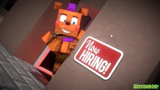 Now Hiring at Freddy s Pizzaria Simulator Music Video Song by JTMusic